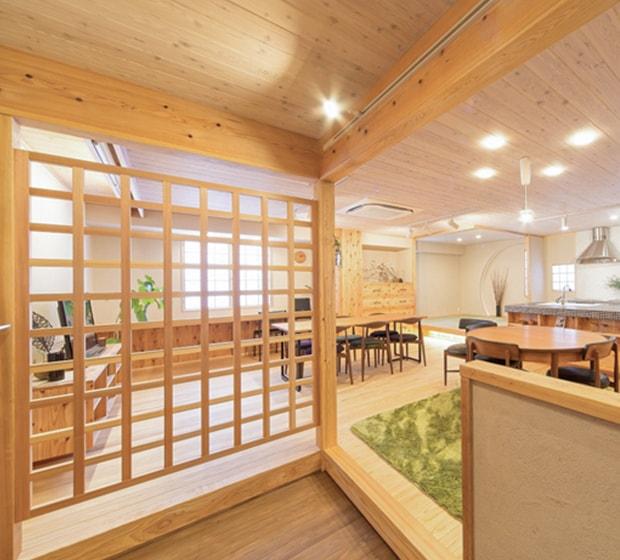 ショールーム木箱Sugi
