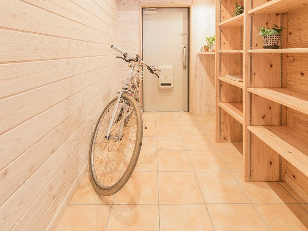 木箱 Hirao|玄関の写真
