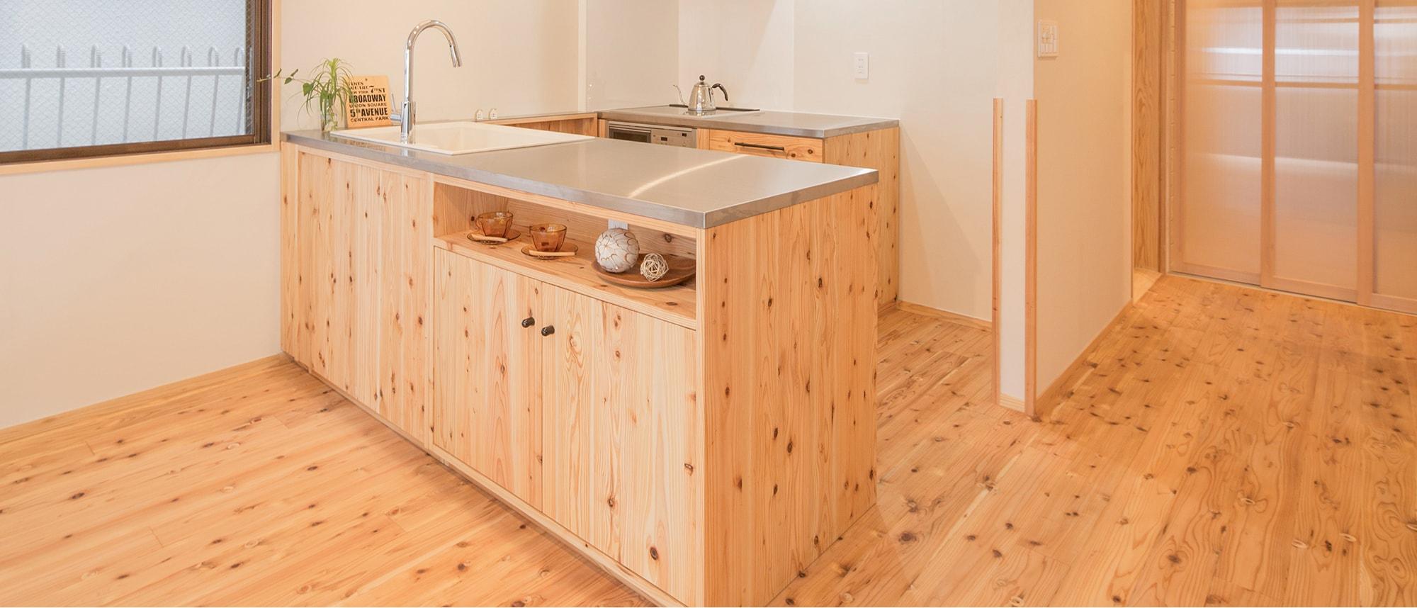 木箱 Hirao|キッチンの写真