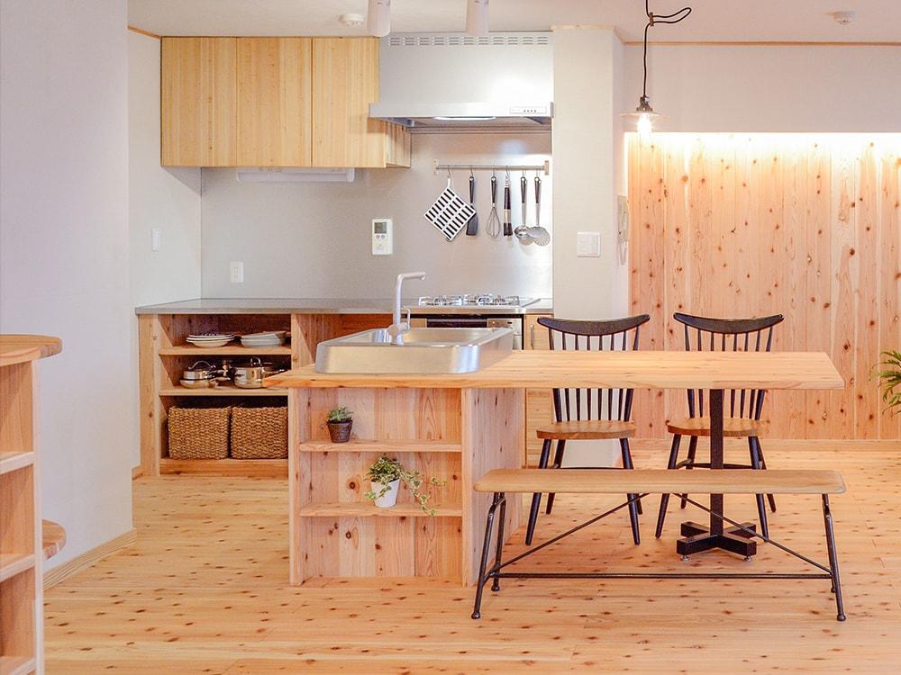 木箱 Imaizumi ダイニングキッチンの写真