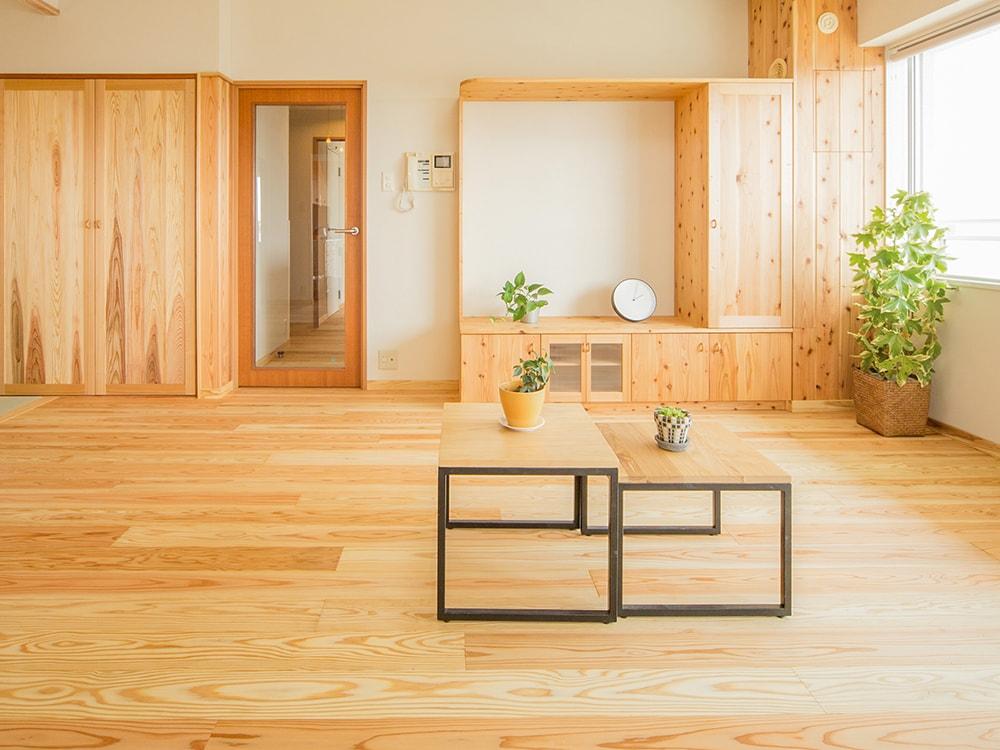 木箱 Kashii|リビングの写真