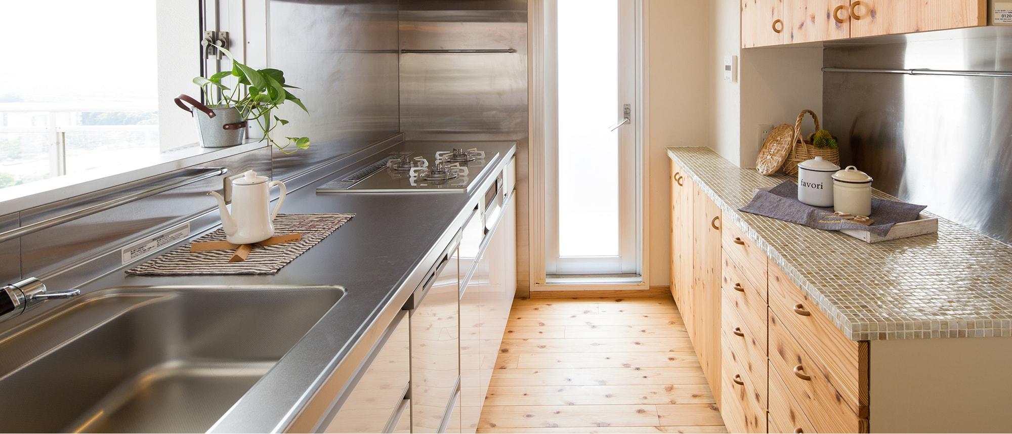 木箱 Kashii|キッチンの写真