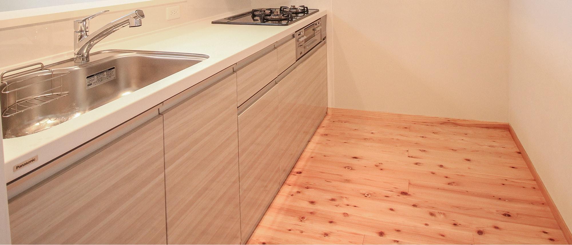 木箱 Matsuzaki|キッチンの写真