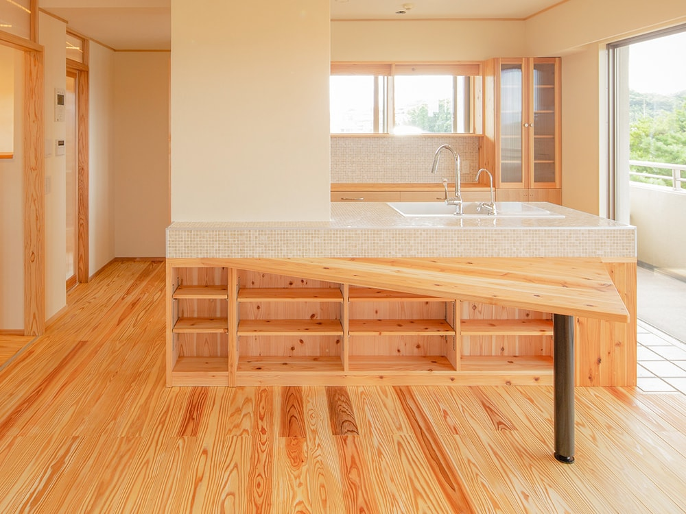 木箱 Matsuzaki2|キッチンの写真