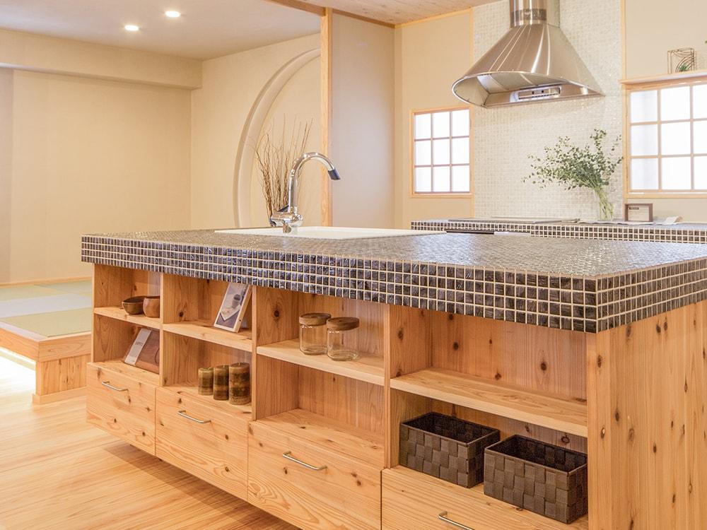 木箱 Sugi|キッチンの写真